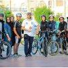 تصاویری از کامبیز دیرباز در پویش سهشنبههای بدون خودرو!