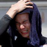 تصاویری از گرمای شدید هوا در ژاپن که ۴۴ قربانی گرفت!!
