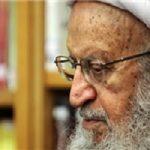 آخرین وضعیت جسمانی آیت الله مکارم شیرازی بعداز کسالت در حین نماز!