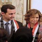 حضور بشار اسد و همسرش اسماء در تونل مرگ در دمشق!