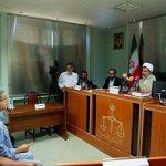 حواشی دادگاه علنی رسیدگی به اتهامات رحیم مشایی