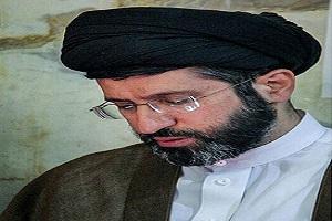 سید مسعود خامنهای فرزند رهبر در یک مراسم ختم!