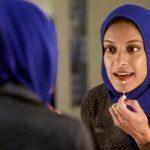 تصاویری از پوشش طاهره رحمان اولین مجری زن محجبه در آمریکا!