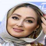 مدلینگ الهام حمیدی برای لباس عقد و محضر!