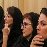تصاویری از مراسم ختم عزتالله انتظامی با حضور هنرمندان