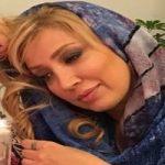 نگار عابدی و دخترش در جشن نمایش سرحدات لیر