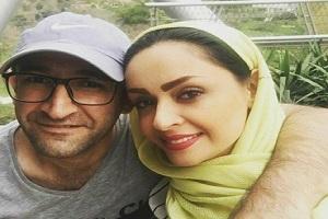 هدایت هاشمی با همسرش مهشید ناصری و دخترش در گیلان!