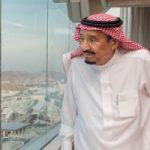 وقتی ملک سلمان پادشاه عربستان به منا رفت!