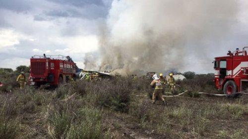 سقوط هواپیمای مسافربری در مکزیک