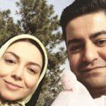 سفر آزاده نامداری و همسرش سجاد عبادی به کرمانشاه