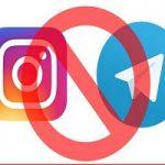 فیروزآبادی: اینستاگرام هم همکاری نکند مثل تلگرام فیلتر میشود!!