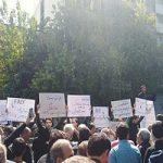 تصاویری از تجمع دانشجویان مقابل مجلس در مخالفت با FATF!