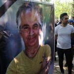 تصاویری از مراسم تشییع پیکر سعید کنگرانی با حضور هنرمندان معروف!
