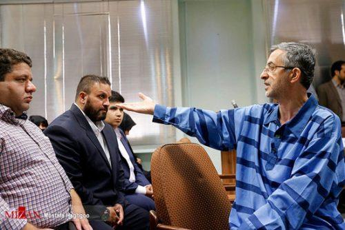 دومین جلسه دادگاه مشایی