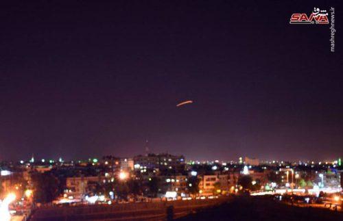 حمله اسرائیل به دمشق
