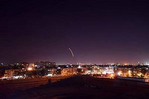 تصاویری از حمله موشکی اسرائیل به فرودگاه دمشق!