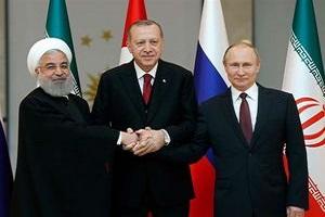 تصویری از رجب طیب اردوغان در تهران