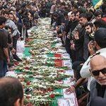تصاویری دردناک از سوگواری پدر شهید حادثه تروریستی اهواز!