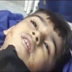 تصویری تلخ از بیتابی پدر طاها شهید ۴ ساله حادثه اهواز!!