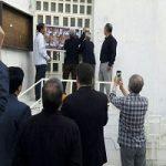 تخته شدن در شورای شهر بروجرد توسط مردم!!