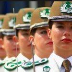 عکس جالب و خاص از ماموران پلیس زن در شیلی را ببینید!