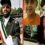 تابوت محمد طاها اقدامی کوچکترین شهید حادثه تروریستی اهواز!