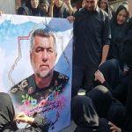 انتشار تصویری دردناک از مراسم تشییع شهدای اهواز در رسانه انگلیسی!
