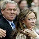 دختر جرج بوش با یک بازیگر ازدواج کرد!
