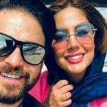 خوشگذرانی بابک جهانبخش و همسر دومش پریا در کیش!
