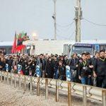 تصاویری از آغاز موج نخست بازگشت زائران اربعین به ایران!