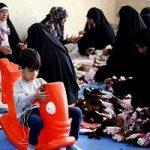 هدیه زیبای زنان ایرانی برای خادمان کوچک اربعین!