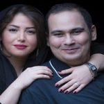 سالگرد ازدواج رضا داوودنژاد و غزل بدیعی