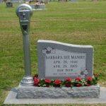 سنگ قبر عجیب یک دختر ۲۵ ساله شبیه گوشی آیفون!!