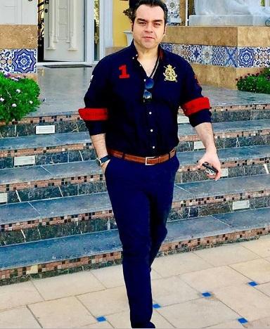 عکس شهرام قائدی