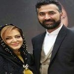 عکس های بهاره رهنما و همسرش در مراسم نذری پزان اربعین ۹۷!
