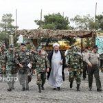 رزمایش ارتش در مرکز آموزش پشتیبانی نیروی زمینی ارتش
