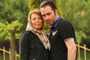 نیما مسیحا در کنار همسرش در روزهای آخر بارداری اش!