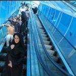 ماجرای سرقت شبانه پله برقی پل عابر پیاده در بومهن!!
