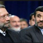 عکس جالب منتشر شده از احمدی نژاد، قالیباف و لاریجانی در فضای مجازی