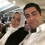 آزاده نامداری و همسر و دخترش در شیراز به وقت پاییز ۹۷!