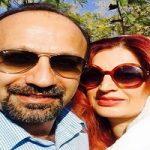 اصغر فرهادی با همسرش در پشت صحنه تئاتر سجاد افشاریان!