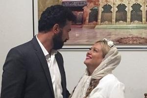 جشن تولدی که بهاره رهنما برای همسرش برگزار کرد