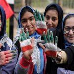 تصاویری از حاشیه های مراسم راهپیمایی ۱۳ آبان ۹۷