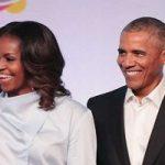 رقص و سورپرایز باراک اوباما در مراسم معرفی کتاب همسرش میشل!!
