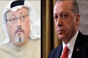 اردوغان رئیس جمهور ترکیه قاتل خاشقجی را معرفی کرد!