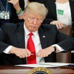 گاف عجیب و مضحک دولت ترامپ در لیست تحریم آمریکا!!