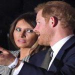 حاشیه های دیدار ۲۰ دقیقه ای ملانیا ترامپ و شاهزاده هری!