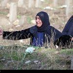 ناله های زنان کرمانشاهی دراولین سالگرد زلزله کرمانشاه