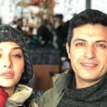 اشکان خطیبی در افتتاحیه نمایشگاه انفرادی همسرش آناهیتا درگاهی!