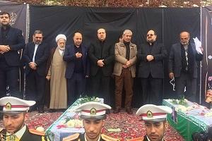 تصاویری از مراسم تشییع پیکر دکتر نوربخش و تاجالدین در تهران!